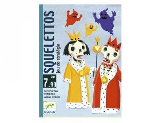 Squelettos (Djeco, 5107, taktikai kártyajáték, 7-99 év)