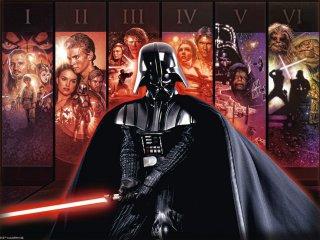 Star Wars, Univerzum Episode I-VI, 500 db-os puzzle (Ravensburger, Csillagok háborúja, 500 db-os puzzle, 49x36 cm, 10-99 év)