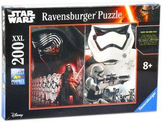 Star Wars VII The Force Awakens XXL (Az Erő Ébredése), 200 db-os puzzle (Ravensburger, csillagok háborúja, 200 db-os puzzle, 49x36cm, 8-12 év)