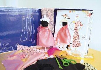 Stílusműhely, divattervező kreatív készlet (Sycomore, 7-14 év)