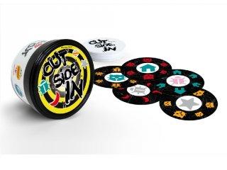 Stragoo Out-Side-In, gyorsasági megfigyelős kártyajáték (5-99 év)