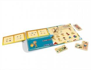 Strand kavalkád, Smart Games egyszemélyes, mágneses logikai játék (6-99 év)