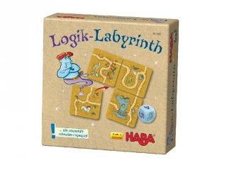 Supermini, Logika labirintus (Haba, útelágazás-elhelyező társasjáték, 6-10 év)