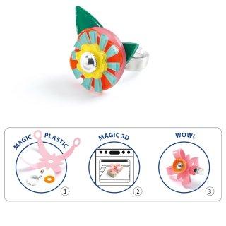 Süthető ékszerkészítés Gyűrűk, Djeco kreatív készlet - 9499 (7-13 év)