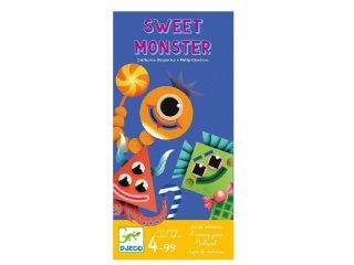 Sweet monster, Djeco szörnyecskés társasjáték - 8545 (4-10 év)