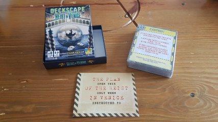 Szabadulópakli, A velencei meló, kooperációs kártyajáték (12-99 év)
