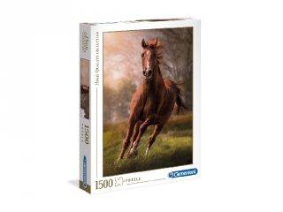 Száguldó ló puzzle, 1500 db-os kirakó (CLEM, 9-99 év)