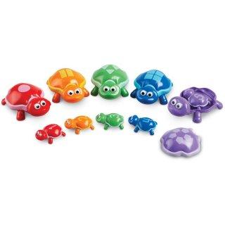 Számoló teknősök, fejlesztő játék (LR, számok megismerése játékosan, 2-5 év)