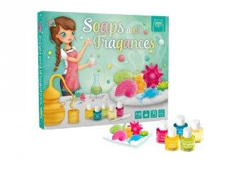 Szappan és parfümkészítő kreatív készlet (7-12 év)