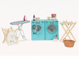 Szárító és mosógép szett (Our Generation, szerepjáték, 3-9 év)