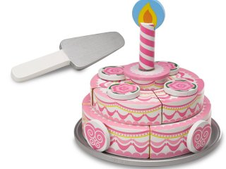 Szeletelhető, emeletes torta (MD, sütős, boltos fajáték, 2-7 év)
