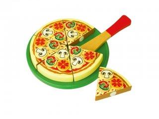 Szeletelhető pizza (FP, fajáték feltétekkel, 2-7 év)