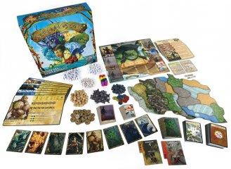 Szellemek szigete, kooperációs fantasy társasjáték (13-99 év)