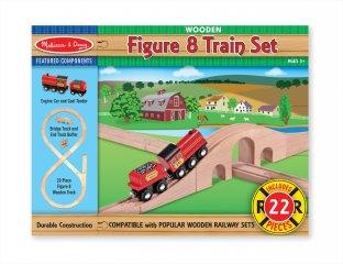 Szénszállító vonat 20 db-os sínkészlettel (MD, 703)