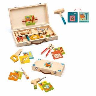 Szerszámos táska, Djeco szerepjáték fából - 6500 (3-6 év)