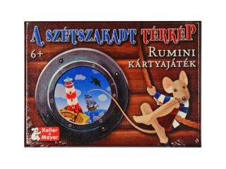 Szétszakadt térkép - Rumini kártyajáték (Keller & Mayer, társasjáték, 8-12 év)