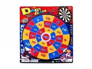 Színes 36 cm-es darts tábla, ügyességi játék (3-6 év)