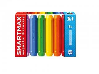 Színes hosszú rúd készlet, 6 db (Smartmax, mágneses építőjáték, 3-7 év)