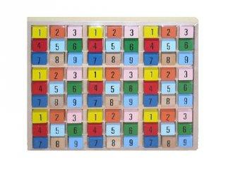 Színes sudoku (FP, fa logikai játék, 8-99 év)