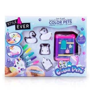 Színezhető és kimosható állatok, Style4Ever kreatív játék (3-8 év)