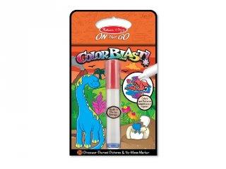 Színrobbanás színező füzet, dínók (Melissa&Doug, 5357, kreatív játék, 2-6 év)