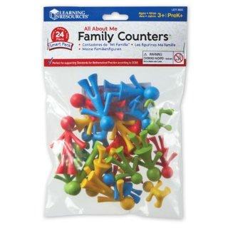 Szortírozó család, fejlesztő játék óvodásoknak (LR, 3-7 év)