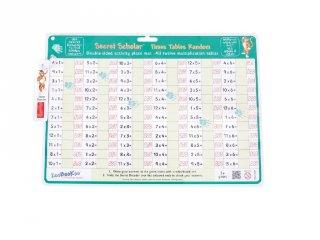 Szorzótábla titkos kódolóval, random (Zoobookoo, matektanulást segítő eszköz, 6-10 év)