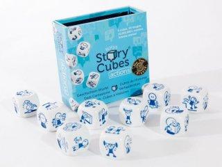 Sztorikocka, Cselekvések (Story Cubes, történetmesélős, -kitalálós, beszéd-, és szókincsfejlesztő kockajáték, 4-99 év)