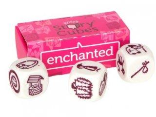 Sztorikocka kiegészítő, Mesevilág (Story Cubes, Enchanted, szókincsfejlesztő kockajáték, 4-99 év)