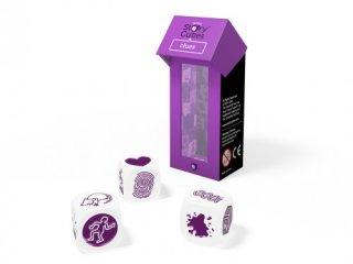 Sztorikocka kiegészítő, Nyomok (Story Cubes, Clues, szókincsfejlesztő kockajáték, 4-99 év)