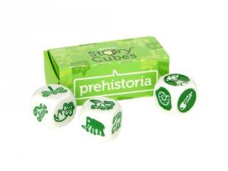Sztorikocka kiegészítő, Őskor (Story Cubes, szókincsfejlesztő kockajáték, 4-99 év)