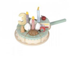 Szülinapi torta, Little Dutch fa szerepjáték (4474, 3-6 év)