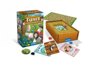 Szuper farmer A kártyajáték, Granna családi társasjáték (8-99 év)