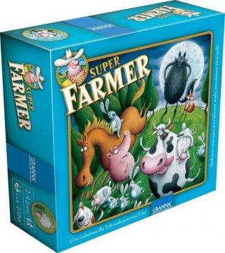 Szuper farmer, Extra kiadás (Granna, családi-, és logikai társasjáték, 7-99 év)