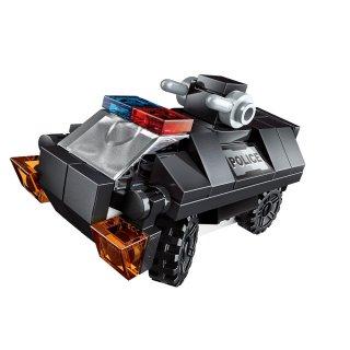 Szuper kommandós jármű, 8 az 1-ben Lego kompatibilis építőjáték készlet (QMAN, 1808, 6-12 év)
