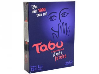 Tabu (Hasbro, kitalálós partijáték, 13-99 év)