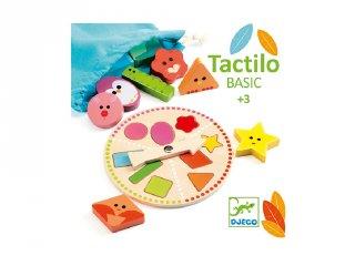 Tactilo Basic, Djeco tapintást fejlesztő játék fából - 6214 (3-6 év)