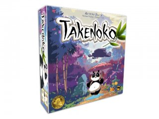 Takenoko, díjnyertes stratégiai társasjáték (13-99 év)