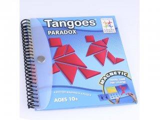 Tangram, Ellentétek (Smart Games, mágneses mozaikkép késztő úti játék, 5-99 év)