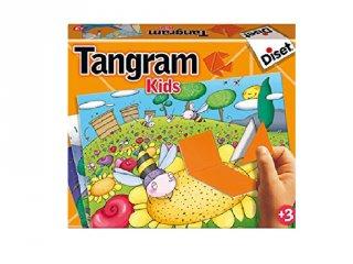 Tangram kirakó geometriai formákkal, Diset logikai játék (3-6 év)
