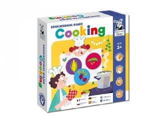 Tanulj angolul! Cooking, Captain Smart tanulást segítő játék (3-8 év)