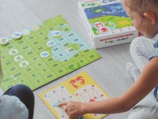 Tanulj meg szorozni! Békák vagy rákok?, Captain Smart matek tanulást segítő játék (6-10 év)