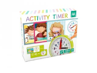 Tanuljuk meg az órát!, tanulást segítő játék (3-8 év)