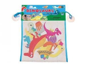 Tapassz a csempére! Dinoszauruszok, fürdőjáték (3-6 év)