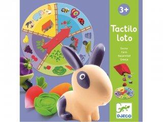 Tapintós-kitalálós játék (Djeco, 8135 tapintós, formakereső társasjáték, 2-6 év)