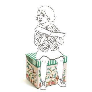 Tárolódoboz Garden toy box, Djeco gyerekszoba kiegészítő - 4483