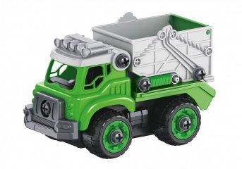 Távirányítós összeszerelhető kukásautó, Buki szerepjáték (3-7 év)