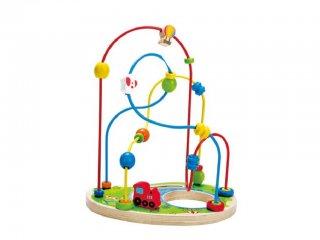 Tekergő Játszótér (Hape, fa golyóvezető játék, 2-5 év)