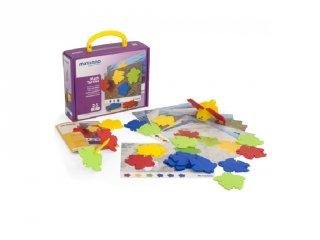 Teknősös Miniland játék a színek és formák megkülönböztetésére (31797, 2-5 év)