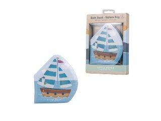 Tengerész csipogó fürdőkönyv, Little Dutch babajáték (2007592, 6 hó-2 év)